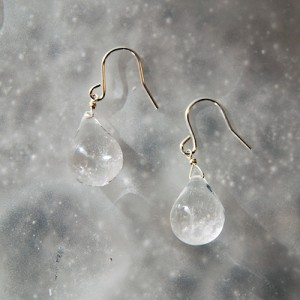 Drop-Stone-Pierce-Silver