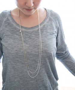 Freshwater-pearl×Metal-Color-Beads-Neck